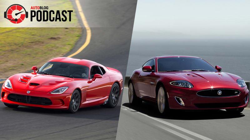 Dodge Viper and Jaguar XK revival | Autoblog Podcast #543