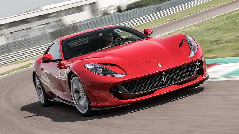 Ferrari 812 Superfast roadster on the way next year?