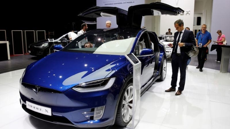 Tesla must recall 12,300 Model X cars over parts that could fall off