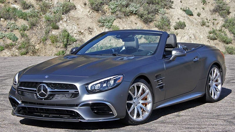 Next Mercedes-Benz SL to get soft top, 2+2 seating, and 800-hp AMG version