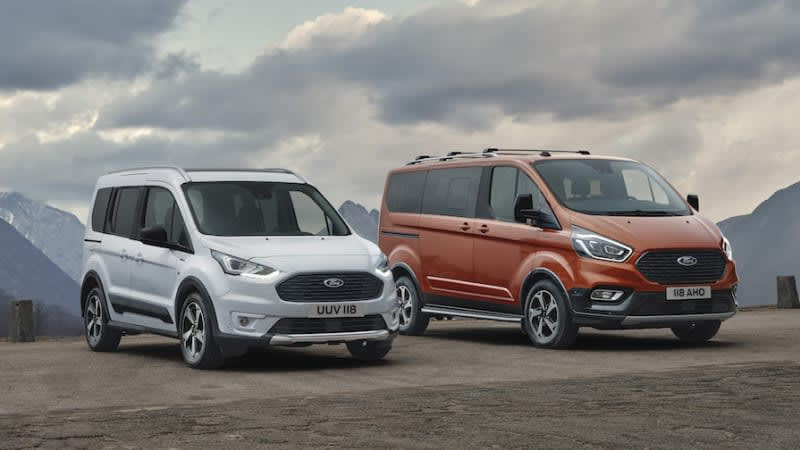 Ford expands Active lineup for all kinds of outdoorsy van lives