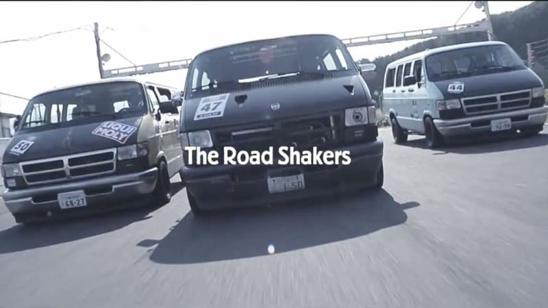 Only in Japan: Dodge van one-make racing series is a thing