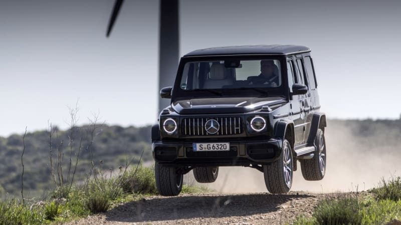 Mercedes-Benz will reportedly soon show an experimental G-Class EV