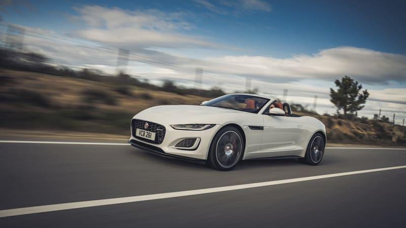 2022 Jaguar F-Type goes V8-only as lineup gets trimmed