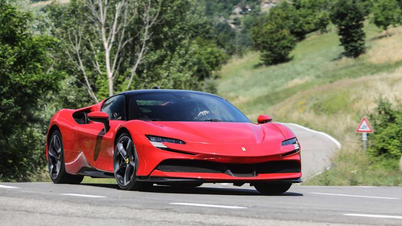 Ferrari SF90 Stradale First Drive Review | The sometimes-stealthy 986-hp hybrid Ferrari