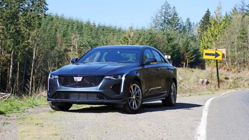 2021 Cadillac CT4-V Road Test Review   V is for Deja Vu