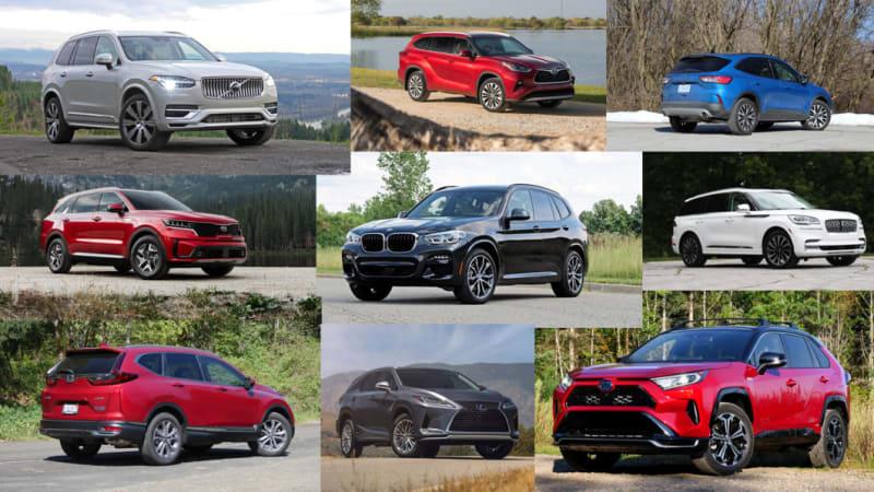 11 best hybrid SUVs for 2021