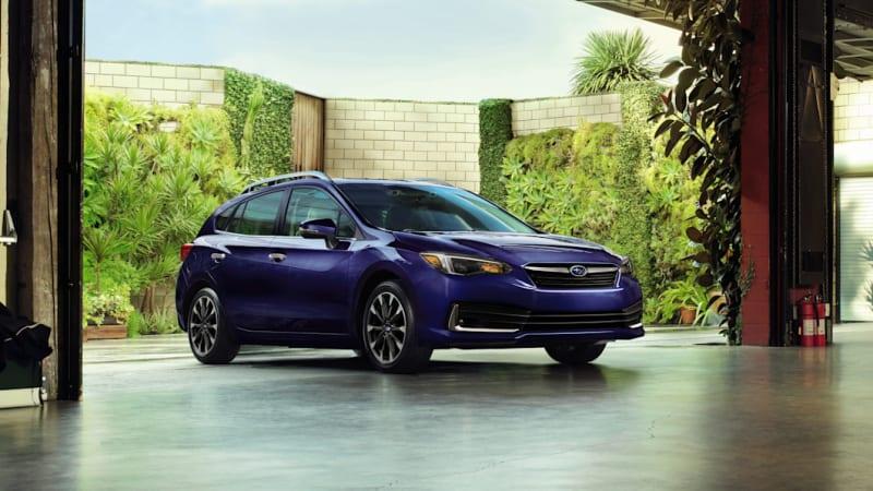 Subaru Impreza enters 2022 largely unchanged, drops Limited Sedan