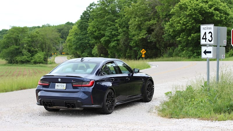 2021 BMW M3 Competition versus the Indiana Nürburgring