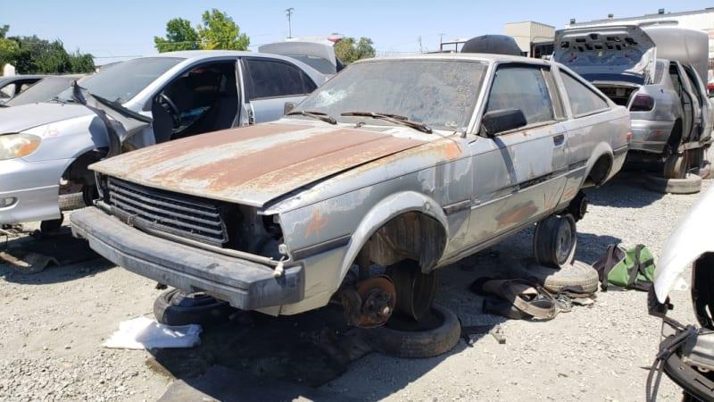 Junkyard Gem: 1982 Toyota Corolla SR5 Liftback Coupe