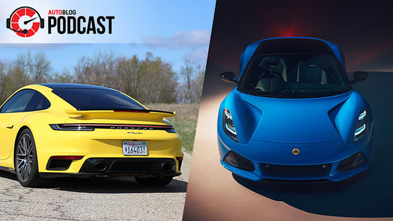 Porsche 911 Turbos, and the new Lotus Emira | Autoblog Podcast #686