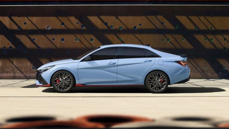 2022 Hyundai Elantra N revealed with available manual