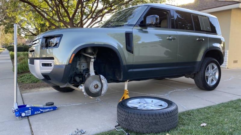 Land Rover Defender 110 Suspension Deep Dive