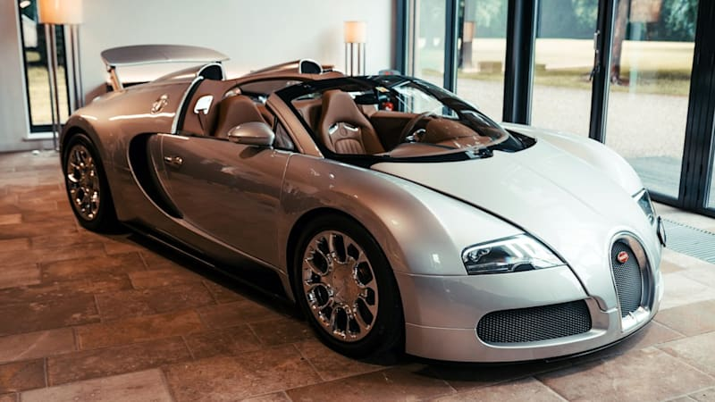 Bugatti fully restores the first Veyron 16.4 Grand Sport prototype