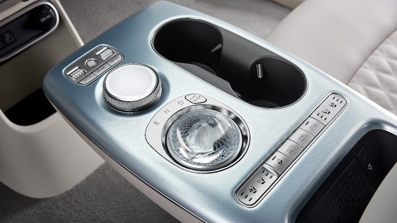The Genesis GV60 has some sort of shifting orb