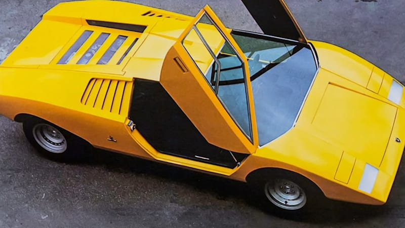 Lamborghini teaser previews rebirth of original Countach LP500