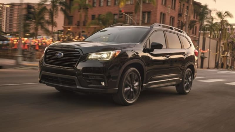 2022 Subaru Ascent Onyx Edition priced at $37,995