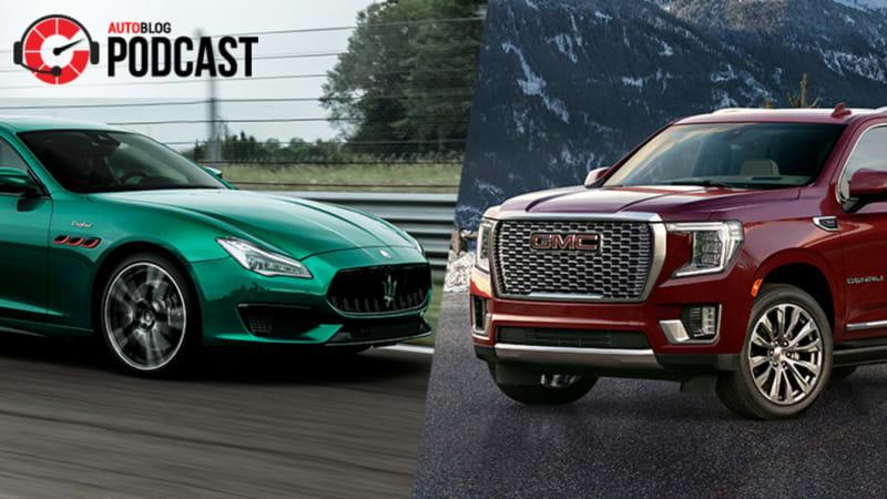 Maserati Quattroporte Trofeo, GMC Yukon XL, Tesla earnings, Maine Mitsubishi Delicas | Autoblog Podcast #689
