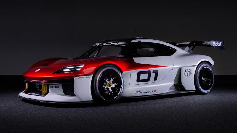 Did Porsche Mission R concept quietly preview 718 Boxster, Cayman EVs?