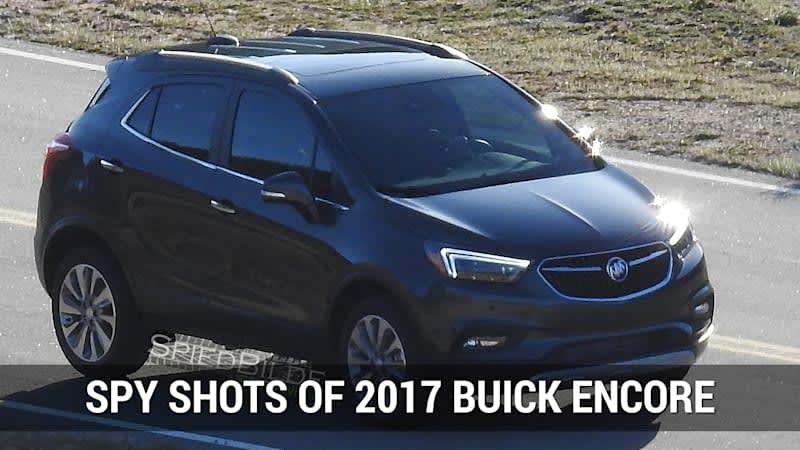 2017 Buick Encore Spy Shots | Autoblog Minute