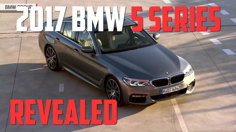 2017 BMW 5 Series Sedan Revealed   Autoblog Minute