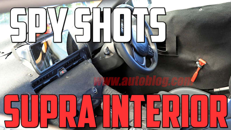 Supra Interior Spied | Autoblog Minute