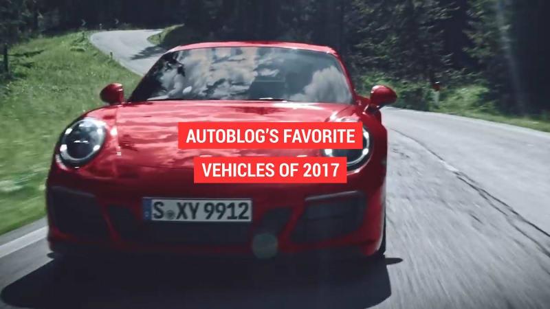 Favorite vehicles of 2017