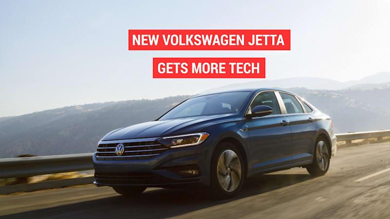 Volkswagen's new Jetta gets a digital cockpit