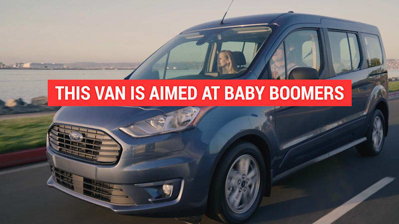 Ford's Transit Wagon is a van aimed at Baby Boomers