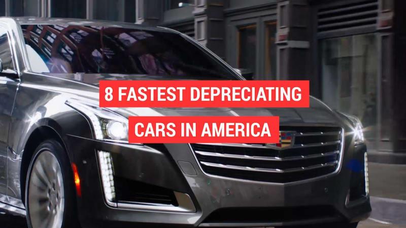 8 fastest depreciating cars in America