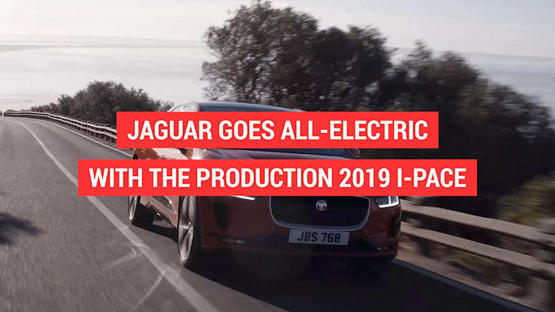 Jaguar's first ever production EV is finally here