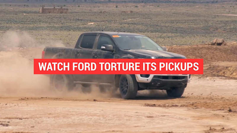 2019 Ford Ranger pickup undergoes tough tests to get ready for the road