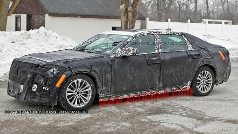 Cadillac Elmiraj sedan RWD flagship finally caught testing
