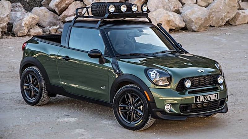Mini Paceman Adventure photos arrive by the trucklette-load