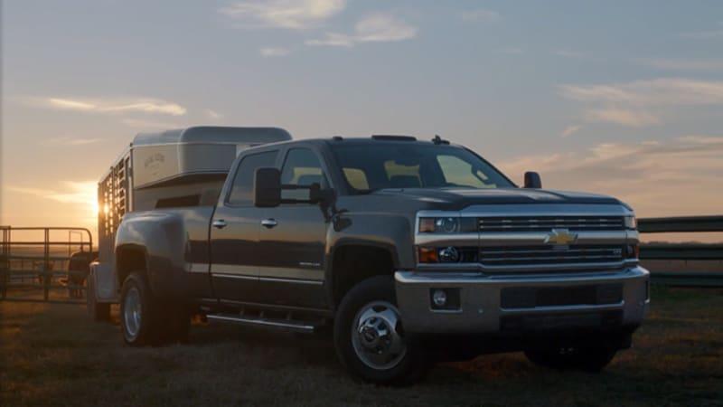 Chevy shines light on bull breeding in Silverado HD Super Bowl spot
