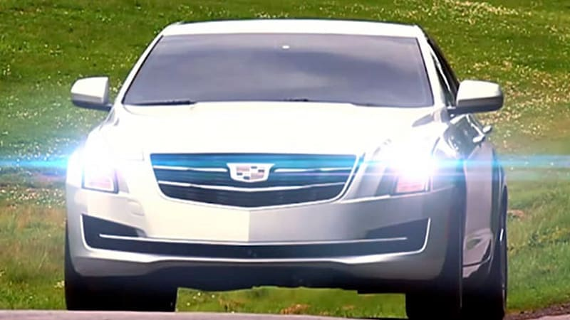 2015 Cadillac ATS sedan gets early reveal in making-of video