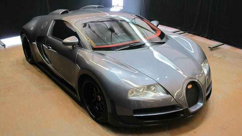 What do you do with a fake Bugatti Veyron for $60k?