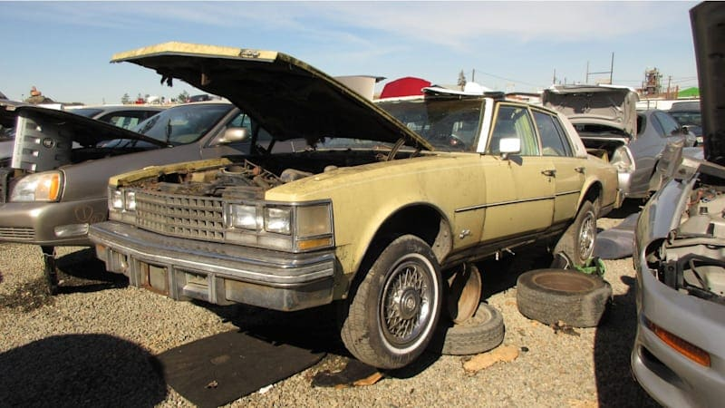 Junkyard Gem: 1976 Cadillac Seville