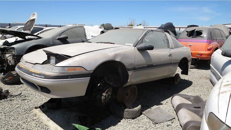 Junkyard Gem: 1990 Plymouth Laser RS Turbo