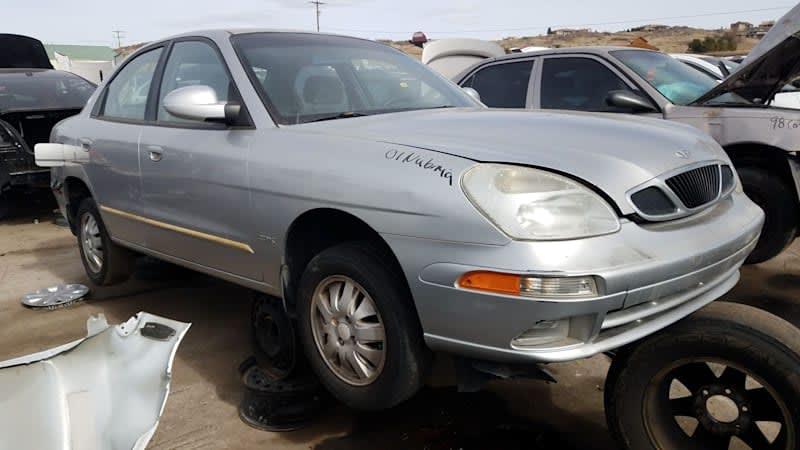 Junkyard Gem: 2001 Daewoo Nubira CDX Sedan