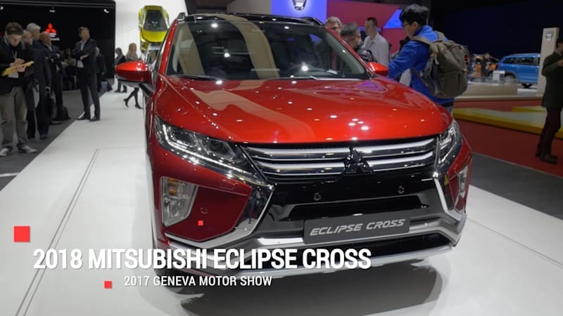 Mitsubishi Eclipse Cross will be crossing over to the US sometime in the fall