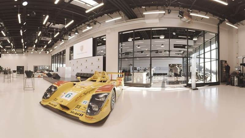 Visiting the Porsche Experience Center in Los Angeles   AutoblogVR