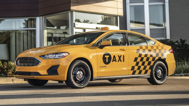 Ford Fusion hybrid and diesel Transit Connect taxis revealed