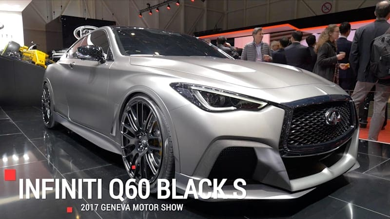 The Infiniti Q60 Black S gets an F1 KERS system