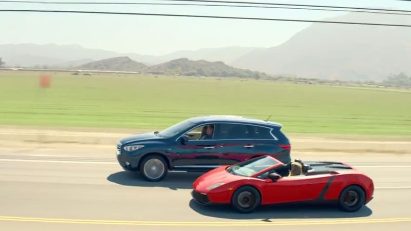 Infiniti takes QX60 on vacation for National Lampoon-inspired ad