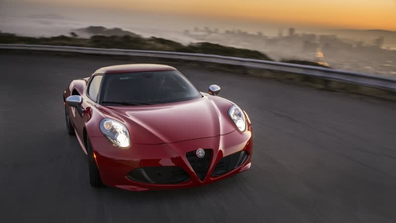 Alfa Romeo 4C coupe will be gone for 2019, but the Spider lives on