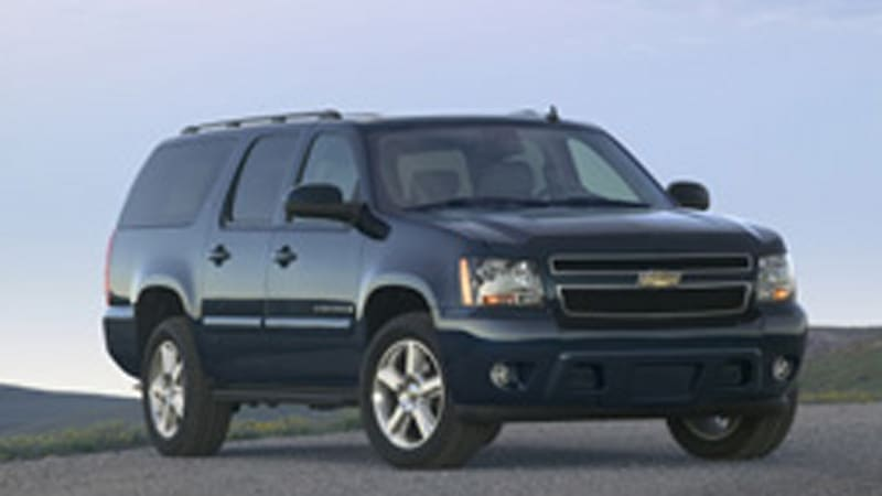 GM hopes price is right for Chevy's 2007 Suburban