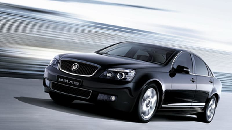 Shanghai Motor Show: Buick Park Ave makes its entrance