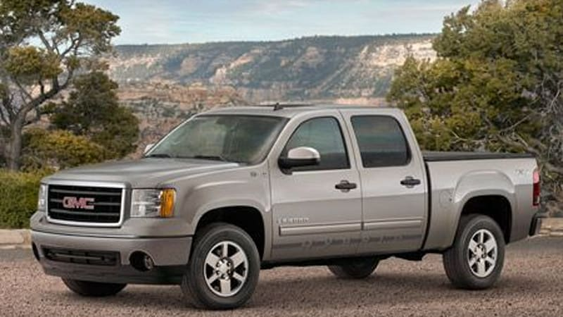 Chicago '08 Preview: 2009 GMC Sierra Hybrid follows suit