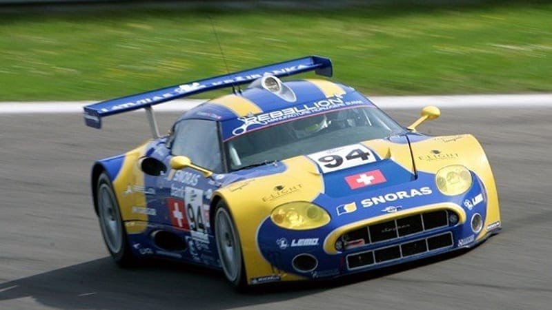 Spyker preparing to enter GT1 with competition-spec C8 Aileron?